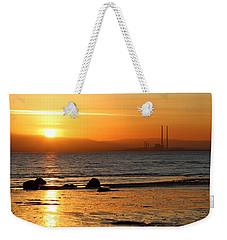 Solar Gold Weekender Tote Bag