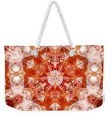 Solar Hypercube Weekender Tote Bag