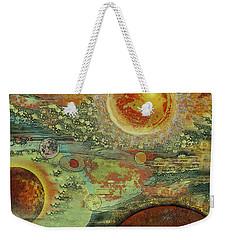 Solar Symphony Weekender Tote Bag