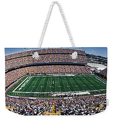 Sold Out Crowd At Mile High Stadium Weekender Tote Bag