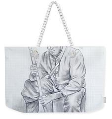 Waiting Soldier Weekender Tote Bag