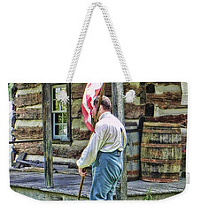 Soldier At Bedford Village Pa Weekender Tote Bag