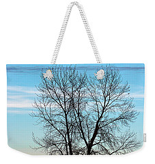 Weekender Tote Bag featuring the photograph Soldier Creek Sunset by Michael Chatt