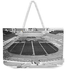 Soldier's Field Boxing Match Weekender Tote Bag by Underwood Archives