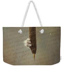 Soliloquy Weekender Tote Bag