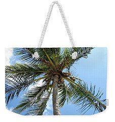 Solitary Palm Weekender Tote Bag