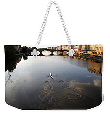 Solitary Sculler Weekender Tote Bag