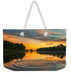 Solstice Ripples Weekender Tote Bag