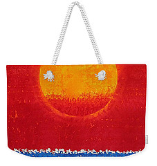 Solstice Sunrise Original Painting Sold Weekender Tote Bag