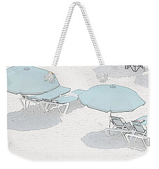 Weekender Tote Bag featuring the photograph Some Beach        Somewhere by Susan  McMenamin