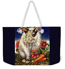 Some Bunny Is A Fuzzy Wuzzy Weekender Tote Bag