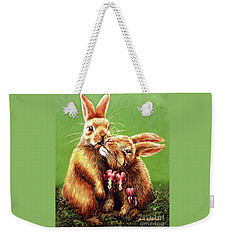 Some Bunny Loves You Weekender Tote Bag