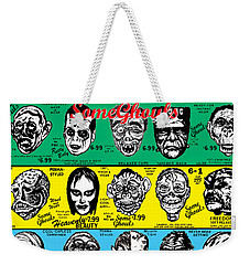 Weekender Tote Bag featuring the digital art Some Ghouls by Sasha Alexandre Keen