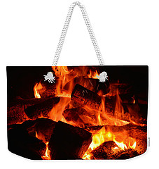 Weekender Tote Bag featuring the photograph Some Like It Hot by Lisa Wooten