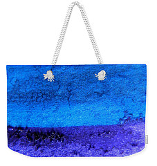 Something Blue Weekender Tote Bag