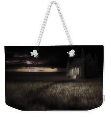 Something Wicked - Lightning - Chapel - Gothic Weekender Tote Bag