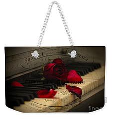 Sonata In Roses Weekender Tote Bag