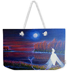 Song Of The Silent Autumn Night Weekender Tote Bag