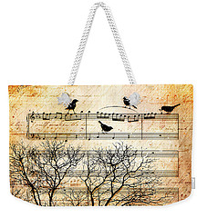 Songbirds Weekender Tote Bag by Gary Bodnar