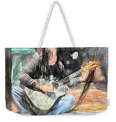 Songs From The Street Weekender Tote Bag by Bob Orsillo