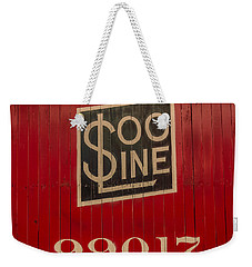 Soo Line Box Car Weekender Tote Bag