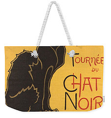 Soon The Black Cat Tour By Rodolphe Salis  Weekender Tote Bag by Tracey Harrington-Simpson
