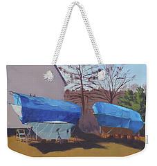 Soon To Be Seaworthy Weekender Tote Bag