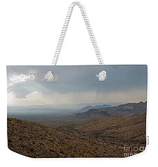 Sotol Scenic Overlook Big Bend National Park Weekender Tote Bag