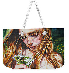 Soul Blossoms Weekender Tote Bag by Tracy Male