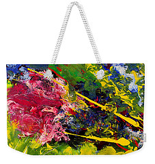 Modern Contemporary Diptych Part 1 Weekender Tote Bag