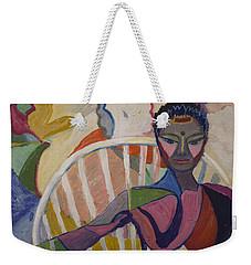 Soul Portrait Weekender Tote Bag by Avonelle Kelsey