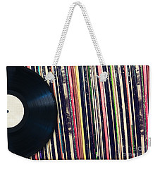 Sound Of Vinyl Weekender Tote Bag
