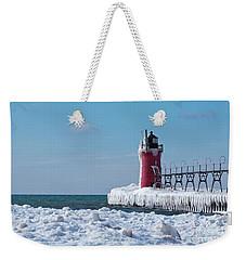 South Haven Ice Weekender Tote Bag