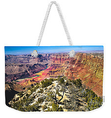 South Rim From The Butte Weekender Tote Bag