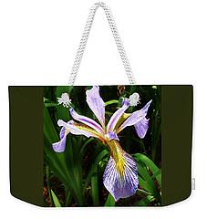 Southern Blue Flag Iris Weekender Tote Bag