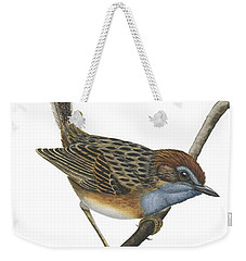 Southern Emu Wren Weekender Tote Bag by Anonymous