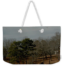 Weekender Tote Bag featuring the photograph Southern Landscape by Lesa Fine