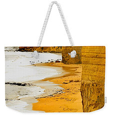 Southern Ocean Cliffs Weekender Tote Bag