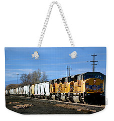 Southern Pacific Loading Up Weekender Tote Bag