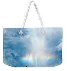 Southern Rainbow Cloud Weekender Tote Bag