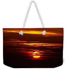 Southern Sunset Weekender Tote Bag