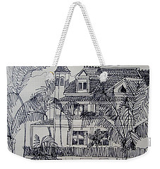 Southernmost House  Key West Florida Weekender Tote Bag