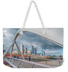 Southgate Bridge Weekender Tote Bag by Ray Warren