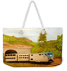 Southwest Chief At Raton Pass Weekender Tote Bag