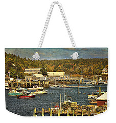 Southwest Harbor Weekender Tote Bag