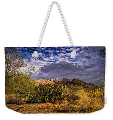 Weekender Tote Bag featuring the photograph Southwest Salad No.2 by Mark Myhaver