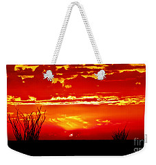 Southwest Sunset Weekender Tote Bag by Robert Bales