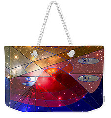 Space Odyssey 08 Weekender Tote Bag