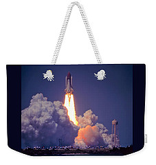Space Shuttle Challenger Sts-6 First Flight 1983 Photo 1  Weekender Tote Bag