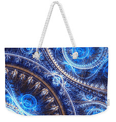 Space-time Mesh Weekender Tote Bag